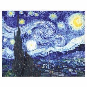 Van Gogh Starry Night Throw Blanket 50x62 NWT